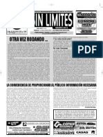 Sin Límites - Marzo 2013