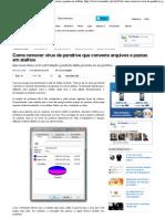 Como remover vírus de pendrive que converte arquivos e pastas em atalhos.pdf