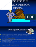 Imposto de Renda Pessoa Fisica 2013
