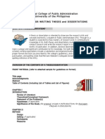 Thesis Guidelines 2008