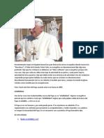 El Papa (postura católica)