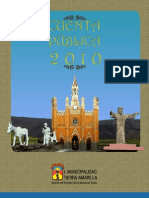Cuenta Publica 2010 Modif Tierra Amarilla