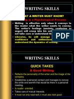 Writing Skills -Nmims- 28.12.2012