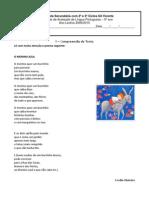 teste de avaliação global - 2º período