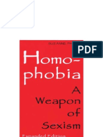 Homophobia a Weapon of Sexism Condensed