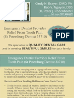 Emergency Dentist Provides Relief From Tooth Pain (St Petersburg Dentist 33710)