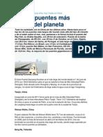 Los 10 Puentes Mas Largos Del Mundo