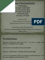 Chorioretinitis Toxoplasma