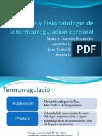Fisiología básica de la termorregulación corporal
