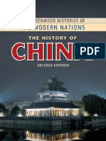 David Curtis Wright the History of China 2nd Ed 2011