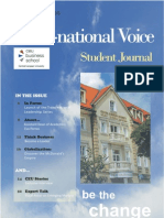 Trans-national Voice Issue 1