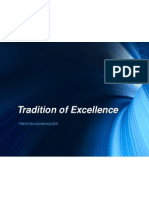 tradition of excellence 2 2