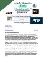 Offener Brief - Aufruf zur Vernunftserhebung - an Kontraste - TV  - März 2013