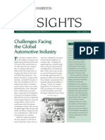 Challenges Facing the Global Automotive Industry