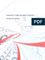 Finland s Cyber Security Strategy - Background Dossier