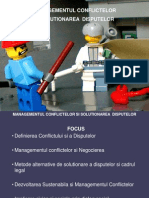 Managementul Conflictelor - Partea I 2013