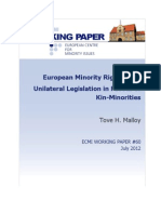 European Minority Rights Law: Unilateral Legislation in Favour of Kin-Minorities by Tove H. Malloy