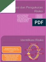 Identifikasi Dan Pengukuran Risiko