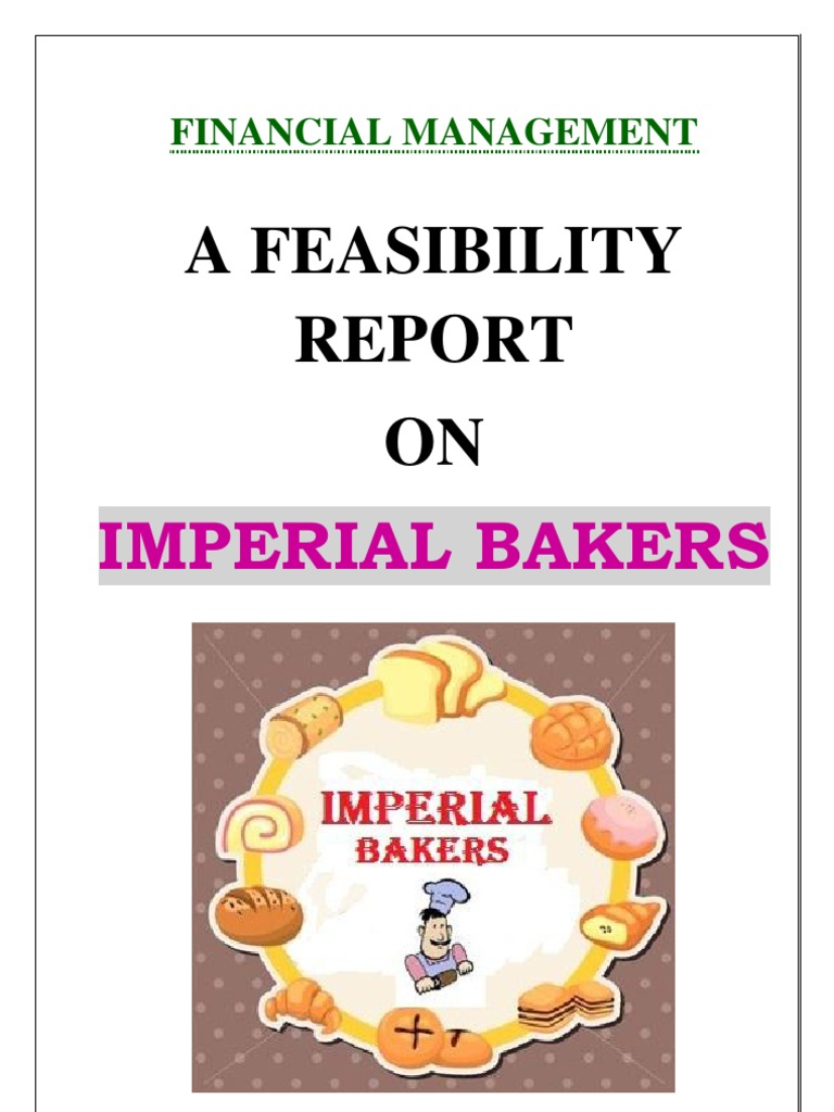 Feasibility Report of Bakery | Baking | Net Present Value