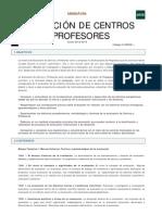 Evaluacion de Centros y Profesores