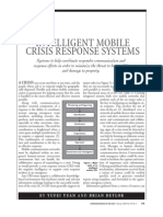 INTELLIGENT MOBILE CRISIS RESPONSE SYSTEMS