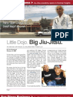 Jiu-Jitsu Article on San Diego BJJ Black Belt Robert Lovi
