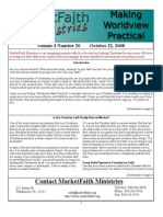 Worldview Made Practical - Issue 3-20
