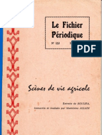 Scènes de vie agricole (Extraits de BOULIFA, transcrits et traduits par Madeleine ALLAIN)