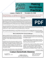 Worldview Made Practical - Issue 3-22