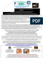 Principal Statement of the Global Symposium for an Intact Humanity - Call for Endorsement - January 2010