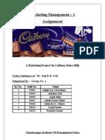 dairy milk 3c analysis