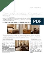 Propuesta de Alojamiento - COLOMBIA DIVERSA