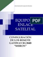 Manual Del Equipo de Enlace Satelital