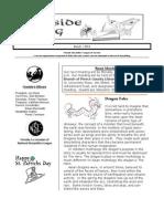 Fireside Log newsletter for March 2013