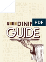 Commercial Dispatch Restaurant Guide 2013