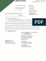 BANKERS STANDARD INSURANCE COMPANY v. PETER REGINATO Complaint