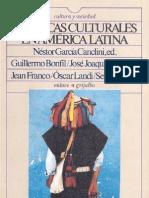 Políticas Culturales en América Latina- García Canclini
