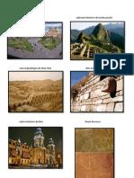 Centro histórico de cusco                                                        santuario histórico de machu picchu