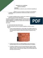 COMPONENTES DE LA ALBAÑILERIA
