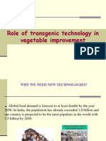 Role of Transgenic Technology