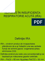 Nursing in Insuficienta Respiratorie Acuta