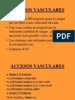 Accesos Vasculares a. Rodriguez