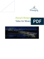 Disraeli Bridges Project VFM Report Final