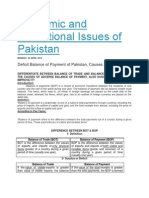 Economic and Educational Issues of Pakistan