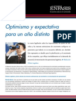Optimismo y expectativa para un año distinto