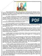 Resume of MGen NG Pajarito