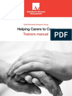 Helping Carers Trainers Manual