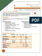 LDR Datasheet