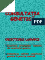 CONSULTATIA GENETICA