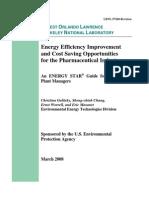 Pharmaceutical Energy Guide